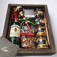 Подарочный набор для мужчины -шефа, начальника, делового партнёра,мужа,парня,отца,друга. Новогоднее оформление