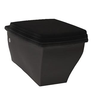 Підвісний унітаз ArtCeram Blues, glossy black (BUV0010300), фото 2