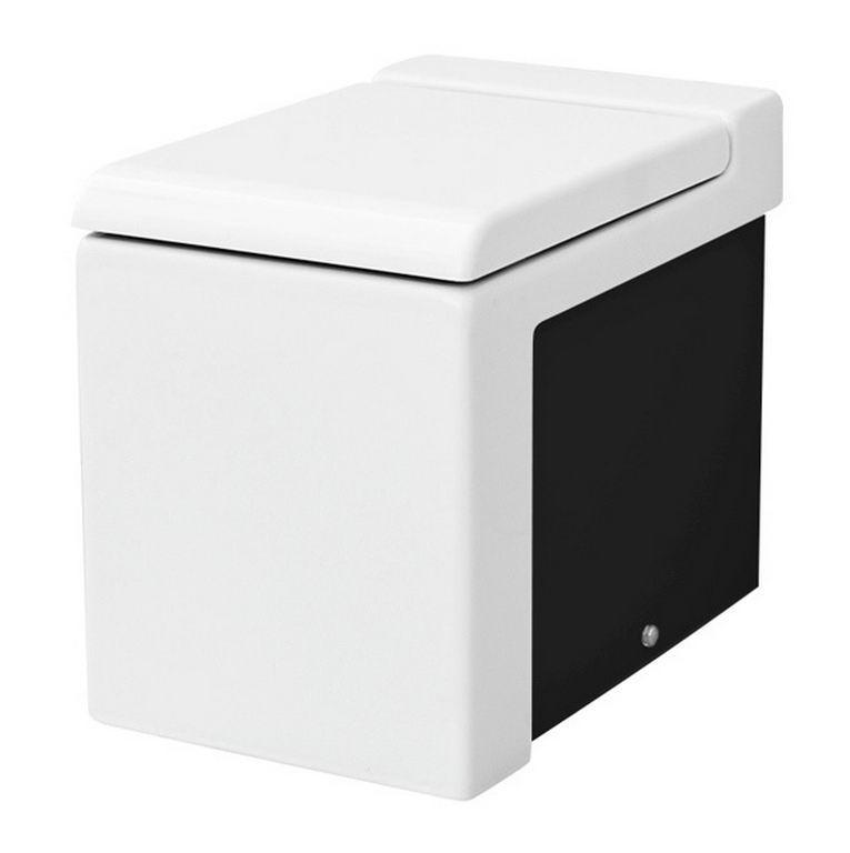 Підлоговий унітаз ArtCeram La Fontana, black white (LFV0050150)