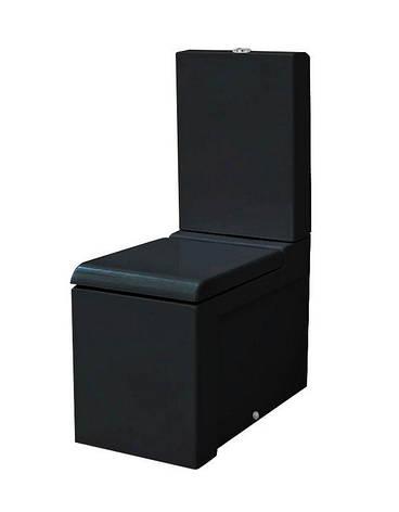 Унітаз моноблок ArtCeram La Fontana, glossy black (LFV0030300), фото 2