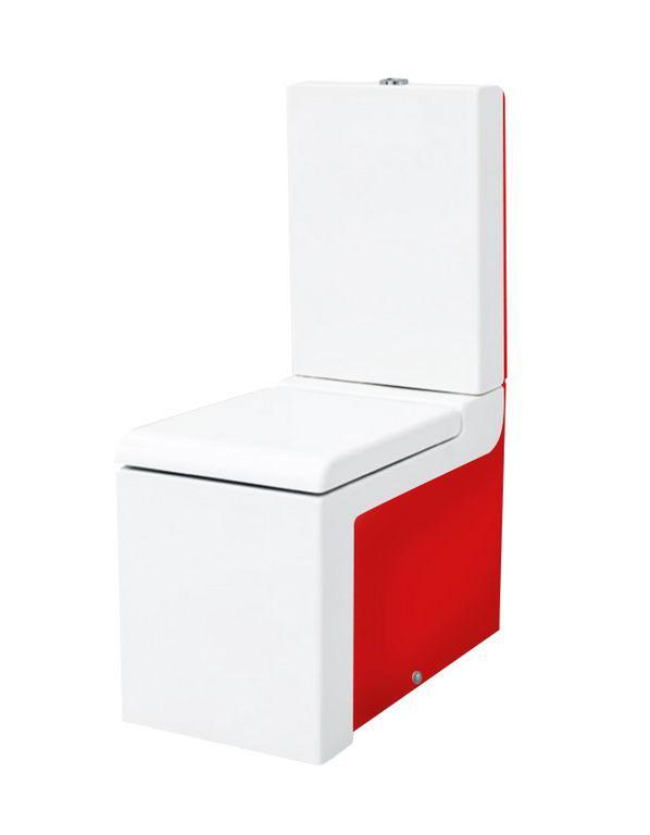 Унітаз моноблок ArtCeram La Fontana, red white (LFV0030151)