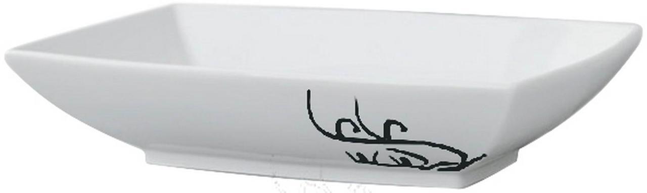 Умивальник на стільницю ArtCeram Jazz, black lettering (JZL0020103)