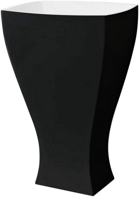 Підлоговий умивальник ArtCeram Jazz, black white (JZL0060150)