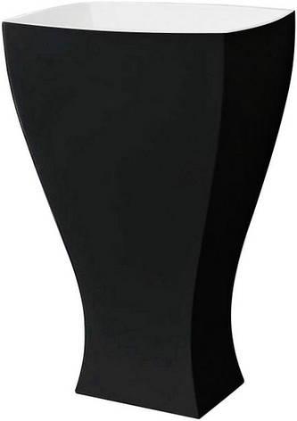 Підлоговий умивальник ArtCeram Jazz, black white (JZL0060150), фото 2