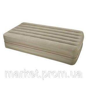 Две надувные кровати в одной Queen Downy Intex 66754
