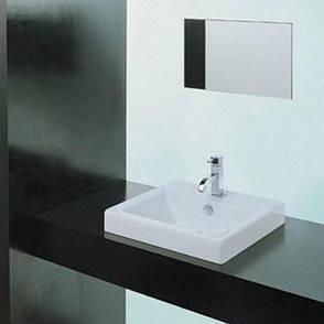 Врізний умивальник ArtCeram Fuori incasso, white (TFL0240100), фото 2