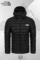 Зимняя мужская куртка, стеганая мужская куртка, зимняя куртка-бомбер The North Face, ТОП-Реплика