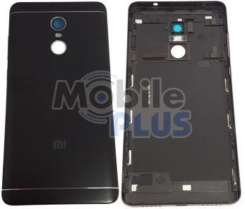 Батарейная крышка для Xiaomi Redmi Note 4 Snapdragon, Note 4X Snapdragon Black