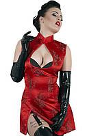 Дерзкая сексуальность - Латексные перчатки - Latex-Handschuhe, цвет: черный