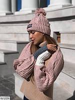 Набор шапка и  шарф   Ванда, фото 1