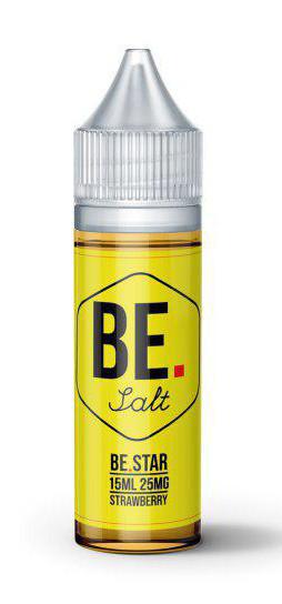 Жидкость для электронных сигарет BE Star 25 мг 15 мл