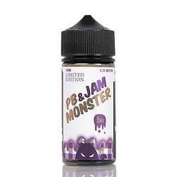 Жидкость для электронных сигарет Jam Monster PB LE 3 мг 100 мл
