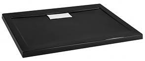 Душовий піддон Polimat Comfort 90x90 чорний (00830), фото 3