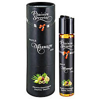 Возбуждающий аромат - Массажное масло - Plaisirs Secrets Exotic Fruits, 59ml
