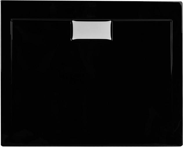 Душовий піддон Polimat Comfort 100x90 чорний (00185)