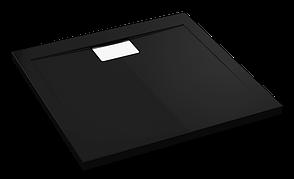 Душовий піддон Polimat Vegar 90x80 чорний (00158), фото 2