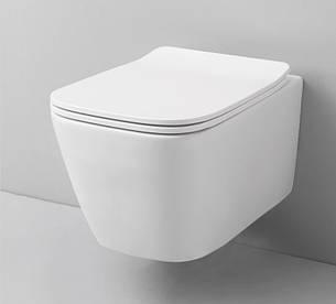 Підвісний унітаз ArtCeram A16, matt white (ASV0010500), фото 2