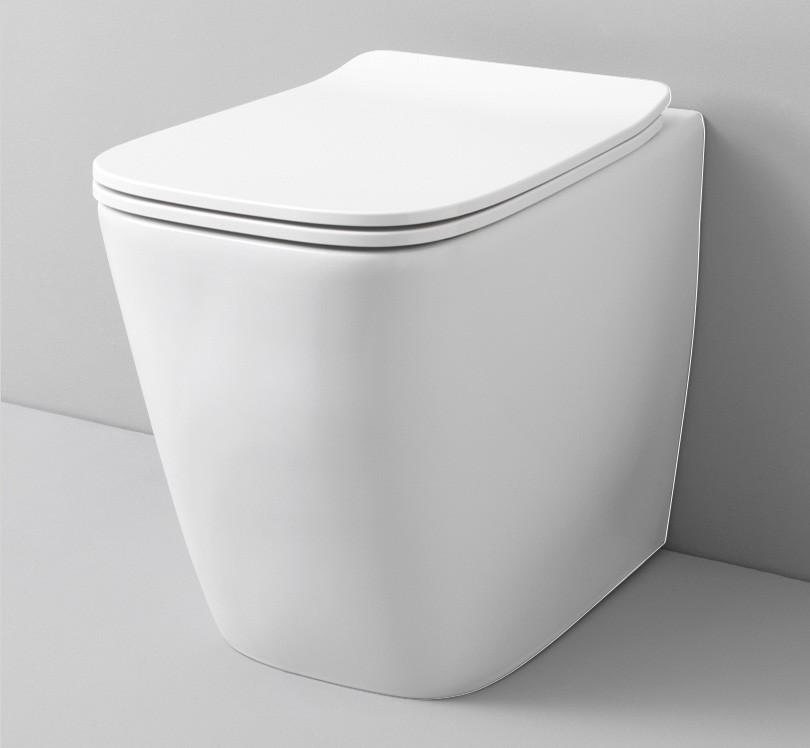 Підлоговий унітаз ArtCeram A16 THE. RIMLESS, matt white (ASV0040500)