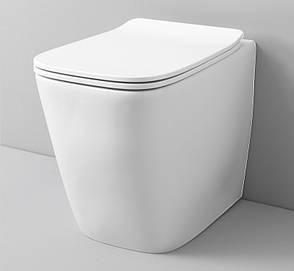 Підлоговий унітаз ArtCeram A16 THE. RIMLESS, matt white (ASV0040500), фото 2