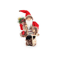 Санта красный БД 825-102 30,5см