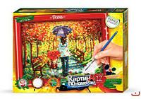 "Картина по номерам ""Осень"" (320х230 мм) KN-01-04"