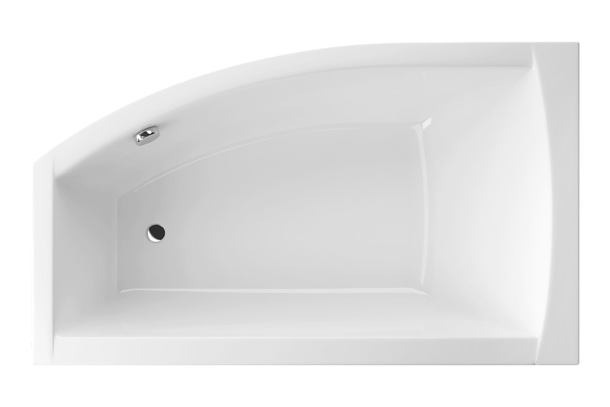 Ванна Excellent Magnus 1600x950 мм, ліва + ніжки (WAEX.MGL16WH)