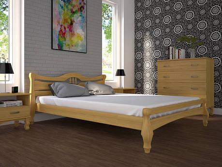 Односпальне ліжко ТИС Корона 1 90x200 сосна (TYS19), фото 2