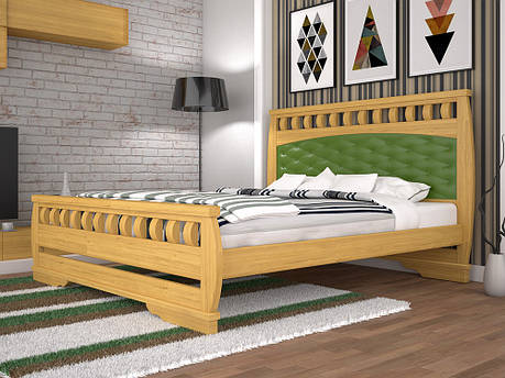 Односпальне ліжко ТИС Атлант 11 90x200 дуб (TYS78), фото 2