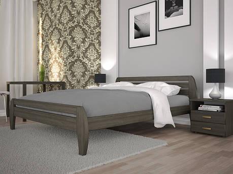 Односпальне ліжко ТИС Нове 1 120x200 бук (TYS119), фото 2