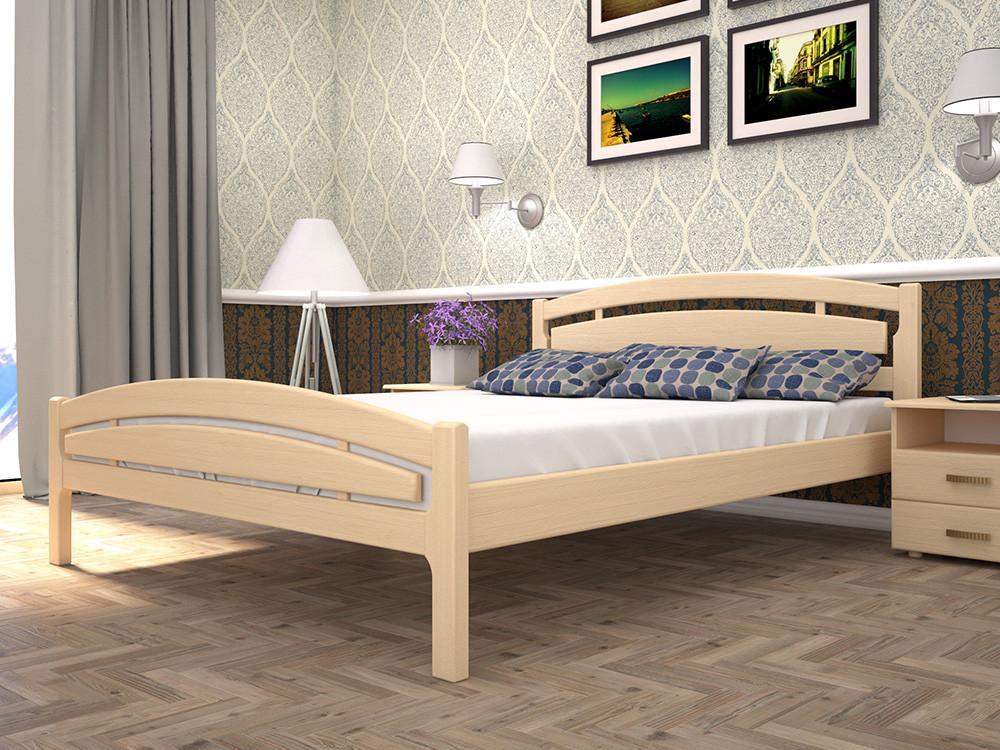 Двоспальне ліжко ТИС Модерн 2 140x200 бук (TYS248)