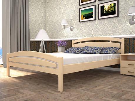 Двоспальне ліжко ТИС Модерн 2 180x200 бук (TYS458), фото 2