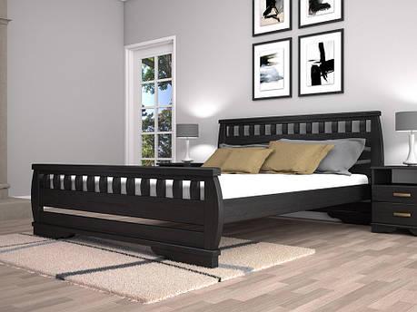 Двоспальне ліжко ТИС Атлант 4 180x200 дуб (TYS477), фото 2