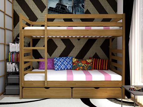 Двоярусне ліжко ТИС Трансформер 1 90x200 сосна (TS2), фото 2