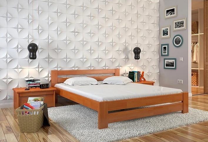 Односпальне ліжко Арбор Древ Симфонія 120х190 сосна (SS120.2)