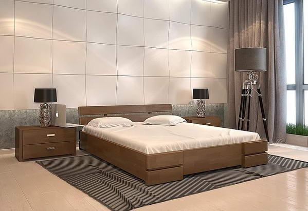 Односпальне ліжко Арбор Древ Далі 120х190 бук (AB120.2)