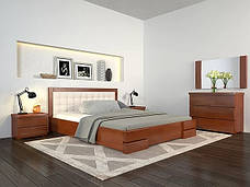 Односпальне ліжко Арбор Древ Регіна Люкс 120х190 сосна (LS120.2), фото 3