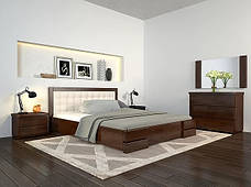 Односпальне ліжко Арбор Древ Регіна Люкс 120х190 сосна (LS120.2), фото 2