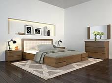 Односпальне ліжко Арбор Древ Регіна Люкс 120х190 бук (LB120.2), фото 3