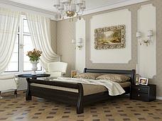 Двоспальне ліжко Естелла Діана 140х190 буковий масив (DV-10.2), фото 3
