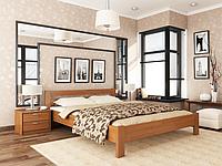 Двоспальне ліжко Естелла Рената 160х190 буковий масив (DV-35.2)