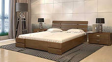 Двоспальне ліжко Арбор Древ Далі Люкс з підйомним механізмом 160х190 бук (DLB160.2), фото 3