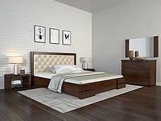Двоспальне ліжко Арбор Древ Регіна Люкс з підйомним механізмом ромб 160х190 сосна (DH160.2), фото 3