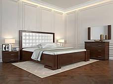 Двоспальне ліжко Арбор Древ Амбер з підйомним механізмом 180х190 бук (ADB180.2), фото 2