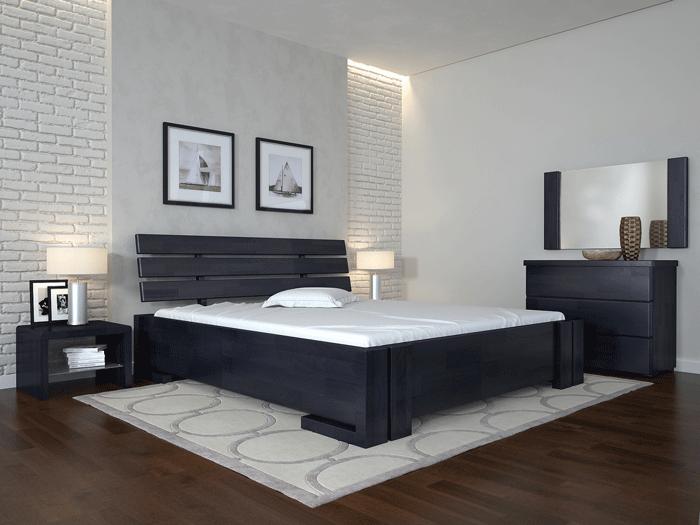 Двоспальне ліжко Арбор Древ Доміно з підйомним механізмом 180х190 сосна (PM180.2)