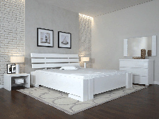 Двоспальне ліжко Арбор Древ Доміно з підйомним механізмом 180х190 сосна (PM180.2), фото 3