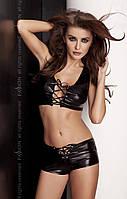 Обтягивающий разврат - Сексуальный набор - LIZZY SET black, цвет: черный