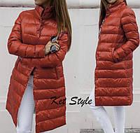 Куртка женская длинная на зиму 42-46 рр.