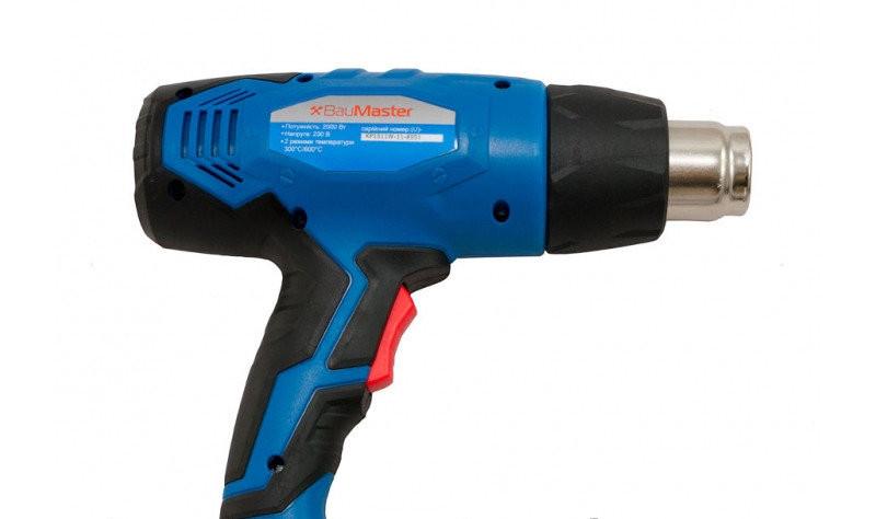 Фен технический BauMaster HG-2000 : 2000 Вт   18 месяцев