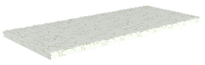 Топпер Take&Go bamboo Green Kokos 140x200 см (2021291402005), фото 2