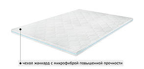 Футон Sleep&Fly Memo 2 в 1 Kokos 70x190 см (3003700701908), фото 2